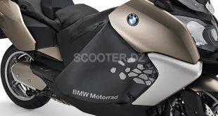 Tablier spécial BMW C 600, C 650 Sport & GT pour affronter l'hiver