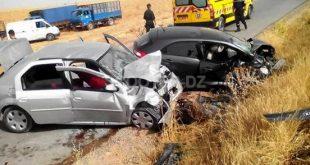 Accidents de la route : 7 morts et 324 blessés en une semaine