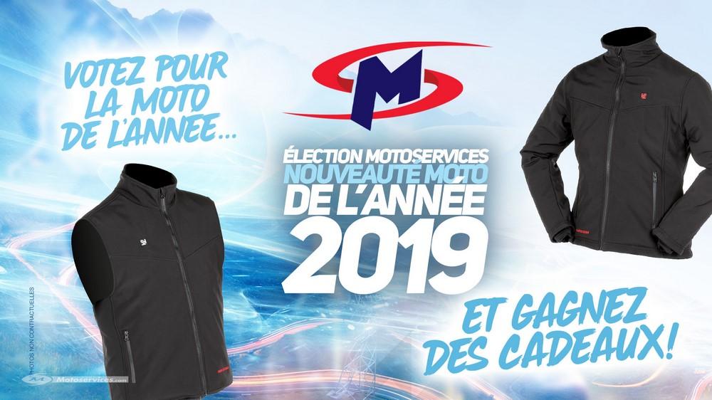 Election de la nouveauté scooter 2019 : tenter de gagner un équipement chauffant !