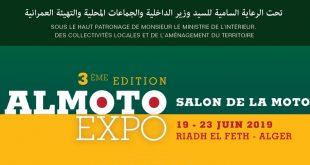 """ALMOTO EXPO, Salon de la Moto"" édition 2019"