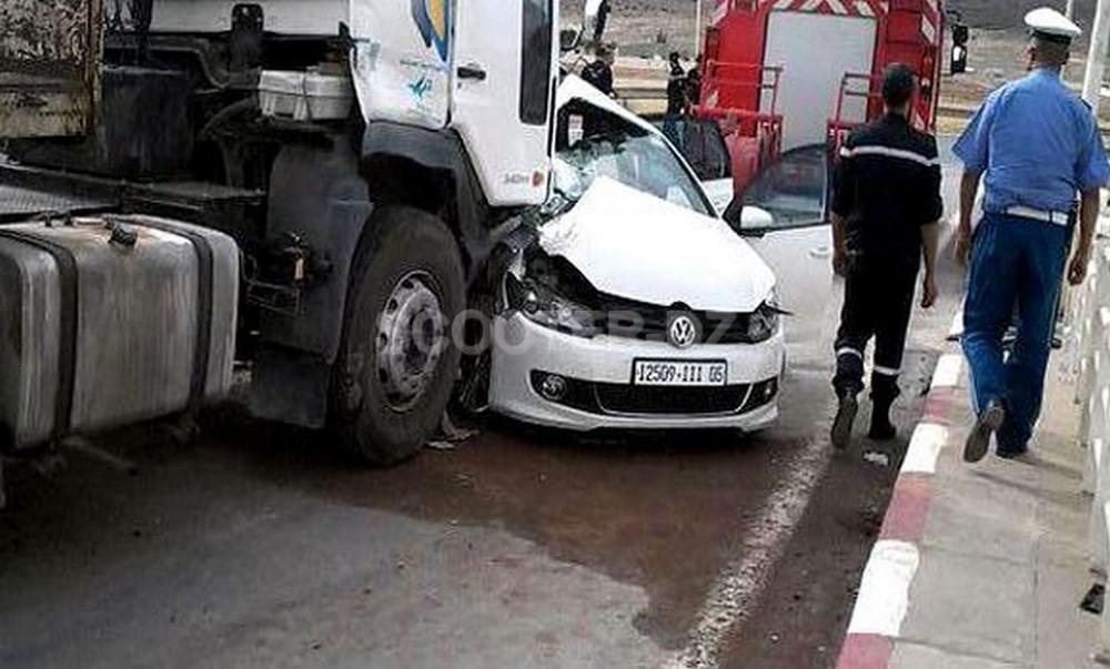 Accidents de la route : 9 morts et 288 blessés en zones urbaines durant une semaine