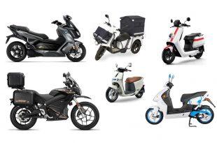 Motos et scooters électriques