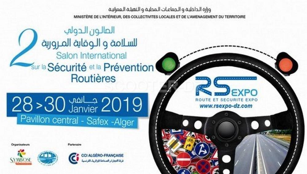 """Participation """"qualitative"""" au salon international de la sécurité et de la prévention routière"""