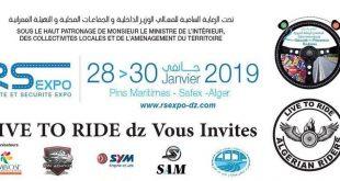RS EXPO 2019 : grand regroupement de motards d'Algérie