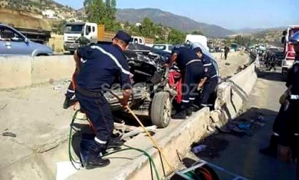 Accidents de la circulation : 42 morts et 826 blessés en une semaine