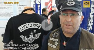 "#Vidéo RS EXPO 2019 (FB) : interview Karim Cherif du ""Live To Ride DZ"""
