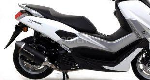 Pot d'échappement Malossi RX BLACK pour YAMAHA NMAX 155 ABS