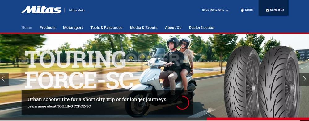 Mitas, marque européenne de pneu moto & scooter s'installe en Algérie