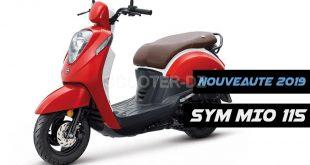 SYM Algérie : nouveau scooter MIO 115, disponibilité et tarif 2019