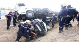 Accidents de la circulation : 28 personnes décédées et 1192 autres blessées en une semaine