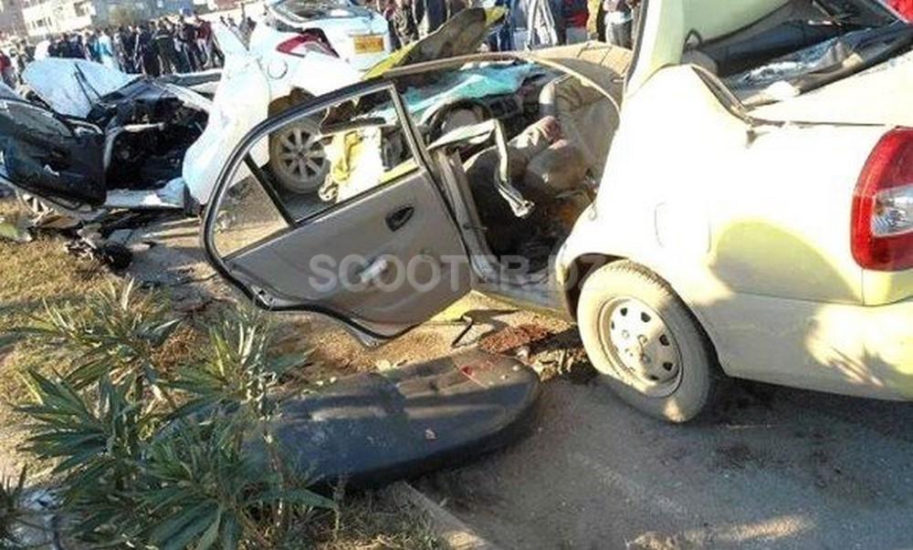 Accidents de la route : 5 morts et 110 blessés en fin de semaine dans les zones urbaines