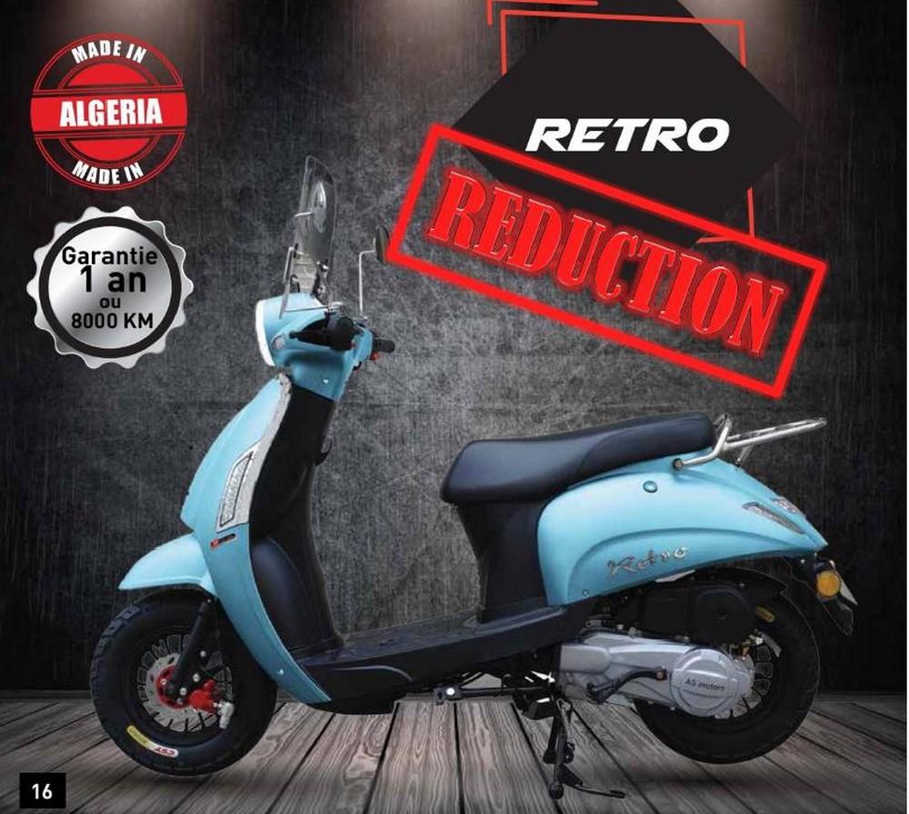 AS Motors Retro 125 en promotion avec 5.000 DZD de remise