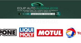 EQUIP'AUTO 2019 : quels acteurs du secteur motocycle exposeront ?