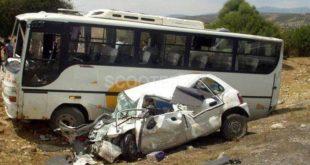 Accidents de la route : 13 morts et plus de 300 blessés dans les zones urbaines en une semaine