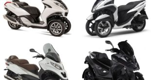 France : marché scooter 3-roues mars 2019