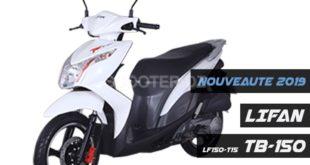 LIFAN Algérie : Scooter TB-150 (LF150T-15), détails, disponibilité et tarif