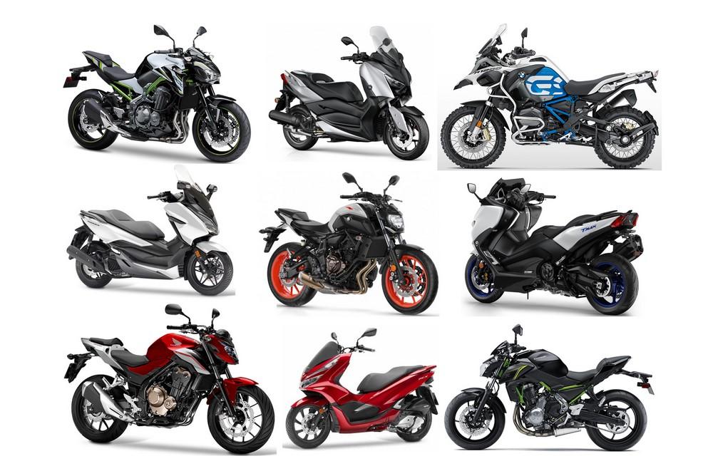 Marché moto scooter mars 2019 : toujours de beaux chiffres