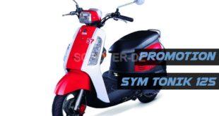 SYM Algérie : Promotion sur TONIK 125 à 159.000 DZD avec casque