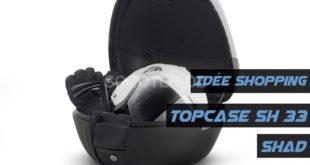 Idée shopping : top-case Shad 33 litres à 11.500 DZD