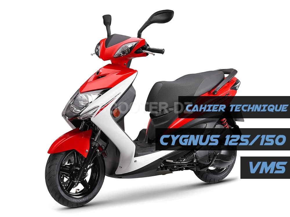 Publication du cahier technique du VMS CYGNUS 125 / 150 cc