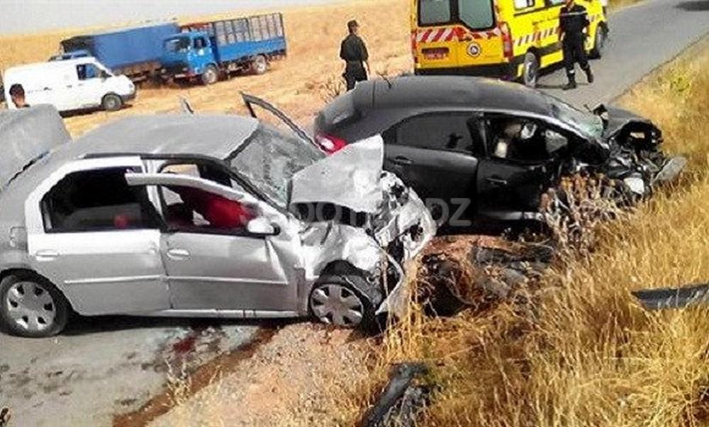 Accidents de la route : 10 morts et 398 blessés en une semaine dans les zones urbaines