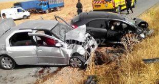 Accidents de la route : 12 morts et 449 blessés en une semaine dans les zones urbaines
