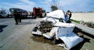 Accidents de la route : 16 morts et 320 blessés durant la 1e semaine de Ramadhan
