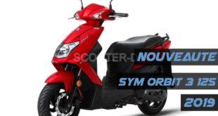 SYM Algérie : nouveau Orbit 3 125, disponibilité, détails et tarif 2019