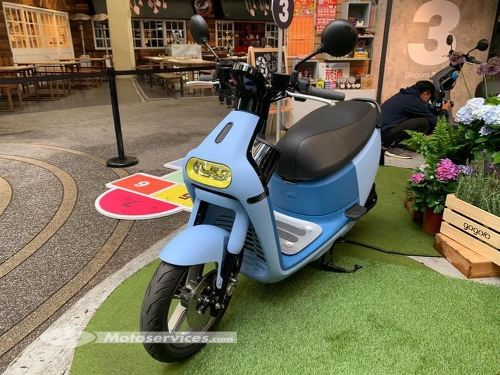 Scooter électrique Gogoro 3 : 170 km d'autonomie !