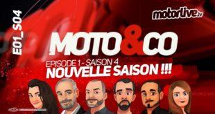 Moto&Co, le retour sur Motorlive ! Saison 4, épisode 1...