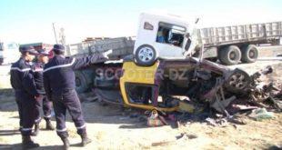 Accidents de la circulation en zones urbaines : 10 morts et 365 blessés en une semaine