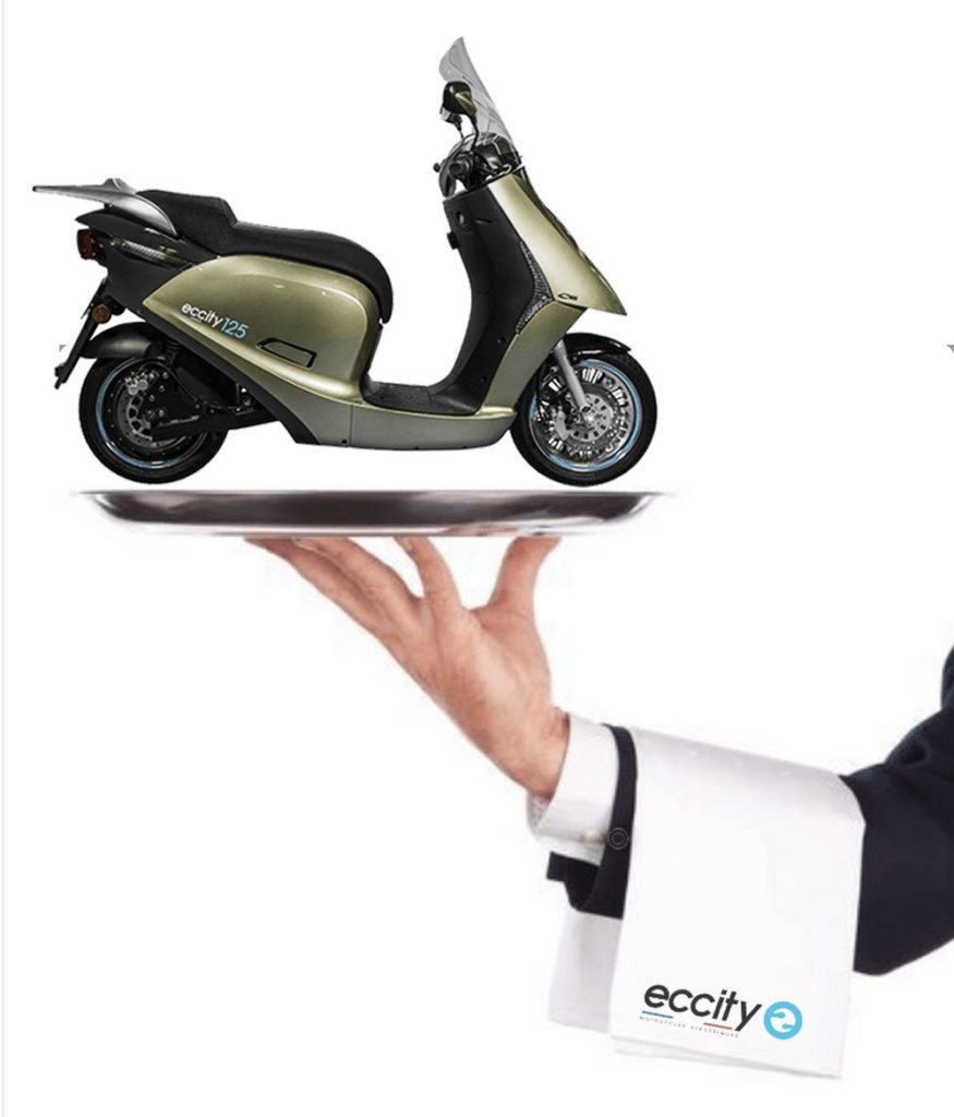 Eccity 50, 125 et 125+ : promo accessoires offerts