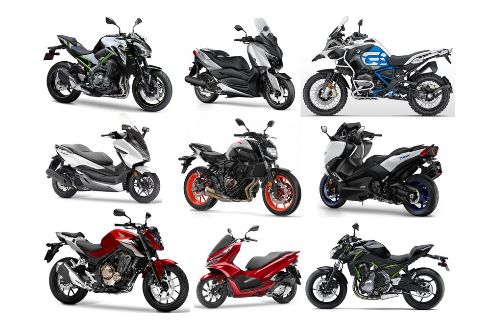 France : marché moto - scooter mai 2019 : beau fixe