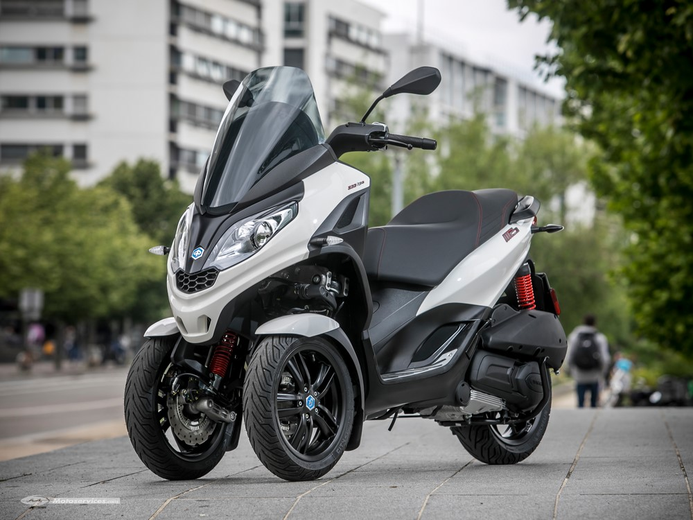 France : marché scooter 3-roues mai 2019