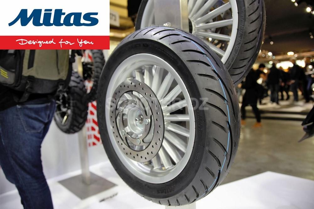"""Mitas Algérie : les pneus """"Scooter Touring Force SC"""" disponible à la vente !"""
