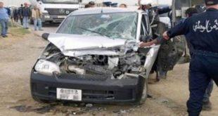 Accidents de la route : 16 morts et 466 blessés en une semaine