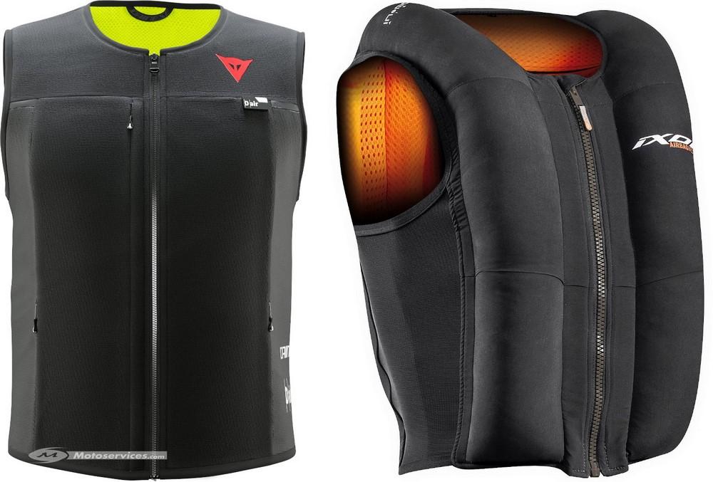 Ixon IX-Airbag U03 vs Dainese Smart Jacket