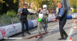 Initiation moto scooter : la tournée d'été de la piste CRS