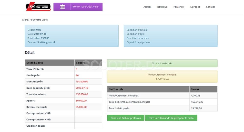 AS Motors : nouveau site internet avec simulateur de crédit intégré