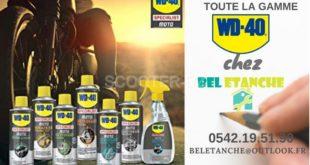 WD40, la gamme moto proposée en Algérie par l'entreprise Bel Étanche