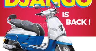 Peugeot Motocycle Algérie : retour du Django 150 cm3 avec ABS électronique