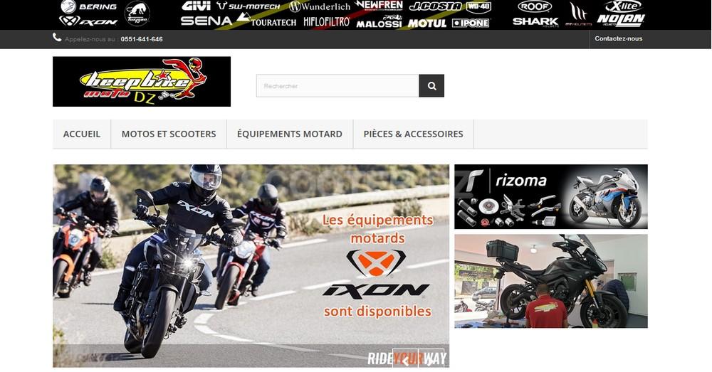 Beep Bike : nouveau site web pour son atelier & son magasin