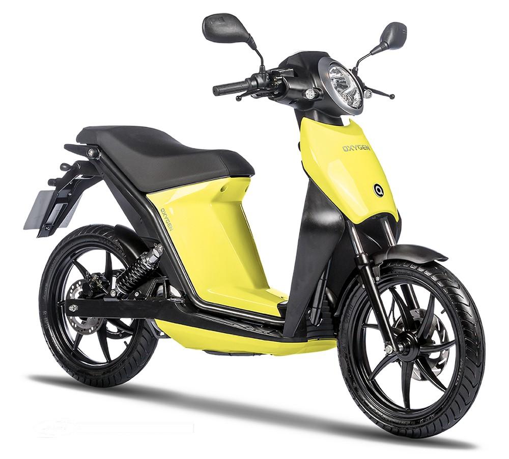 Oxygen : le scooter électrique Quadro, à deux roues !