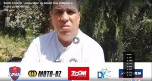 #Vidéo Samir Khemici (FB) : Participation en scooter à un rallye de régularité