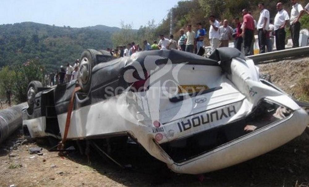 Accidents de la circulation : 37 décès et 1.919 blessés en une semaine