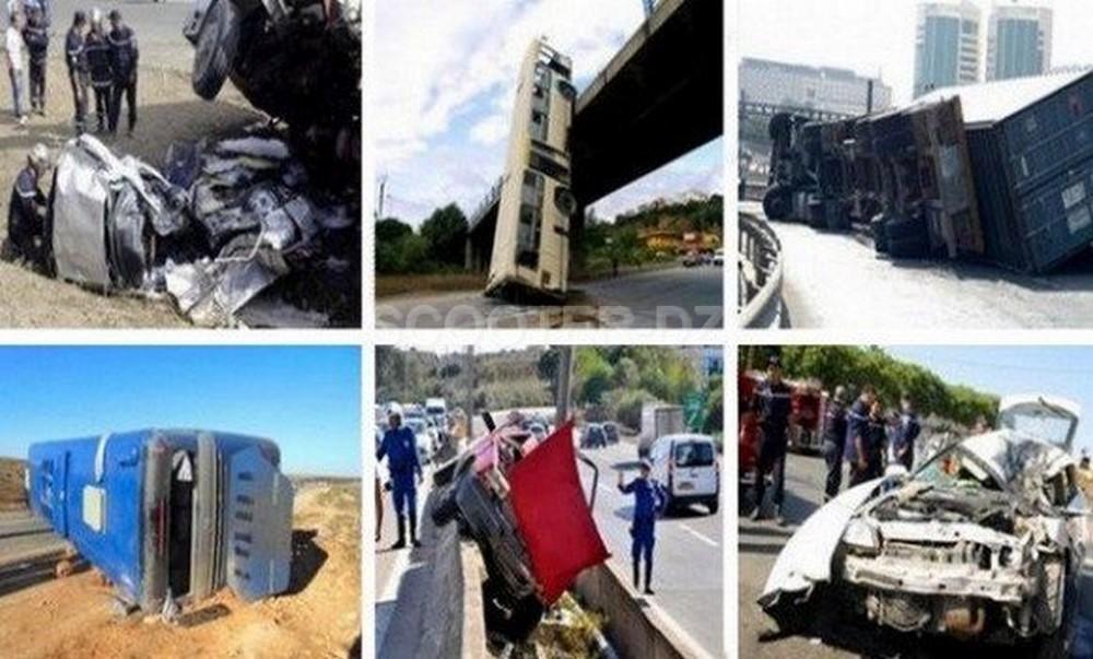 Accidents de la route : 10 morts et 365 blessés la semaine dernière