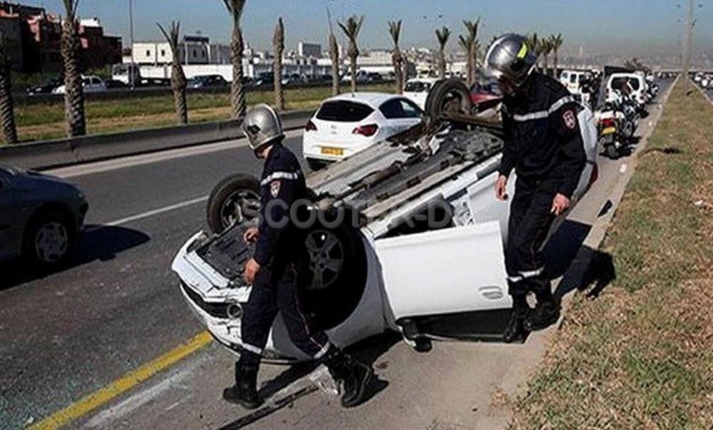 Accidents de la route : 11 morts et 390 blessés en zones urbaines durant une semaine