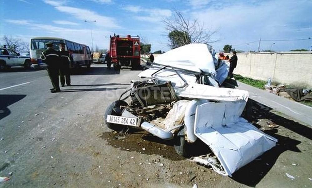 Accidents de la circulation : 8 décès et 347 blessés en une semaine