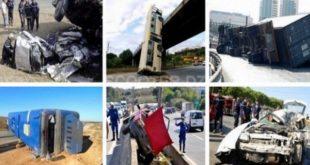 Accidents de la route : 39 morts et 1.846 blessés