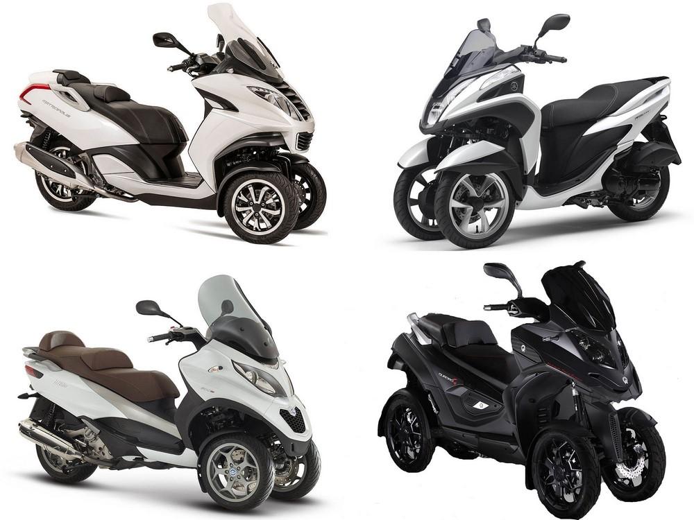 France : marché 3 roues - juillet 2019 : Stabilité
